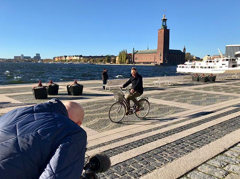 Der schwedische Journalist Jan Stocklassa